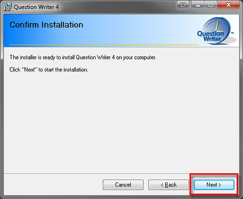 Confirm Installation