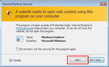 Internet Explorer Security