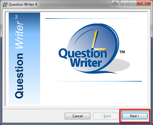 Question Writer Install