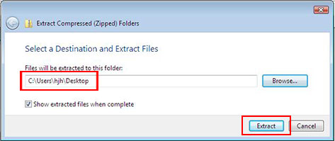 Extract Compressed (Zipped) Folders