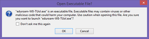 Open Executable File?