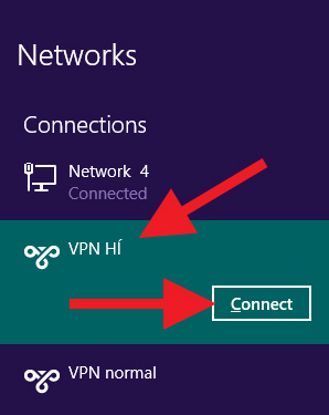 VPN HÍ connect