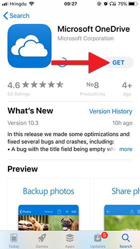 OneDrive - uppsetning á iPhone og iPad | Upplýsingatæknisvið